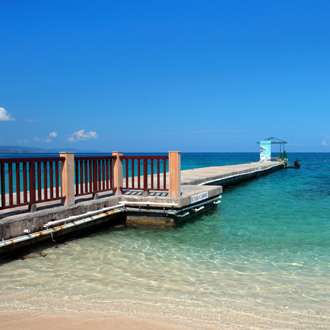 Foto van de pier op Montego Bay