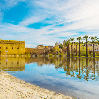 Jnan Sbil Bou Jeloud Garden in Fez