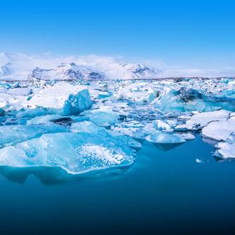 Jokulsarlon ijs lagune in IJsland