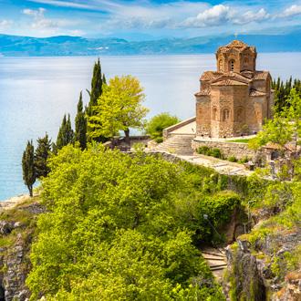 Jovan Kaneo kerk in Ohrid, Macedonie