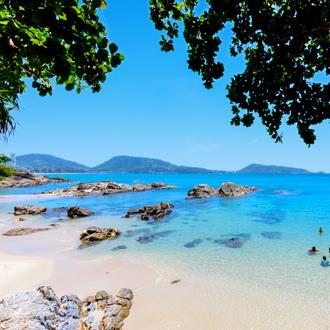 Kalim beach vlakbij Patong Beach Thailand