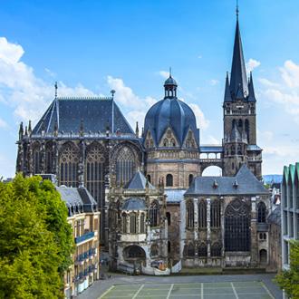 Kathedraal Aken in de regio Keulen