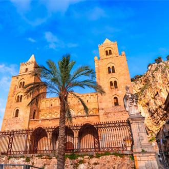 Kathedraal van Cefalu, Sicilië, Italië