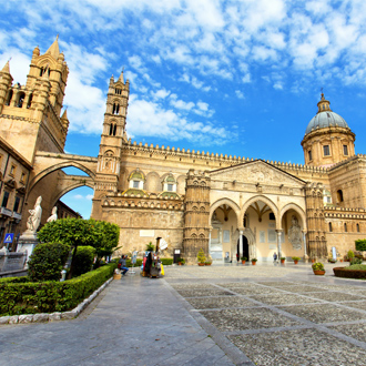 Kathedraal van Palermo, in Sicilië, Italië