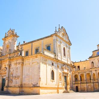 Duomo Kerk in het centrum Lecce