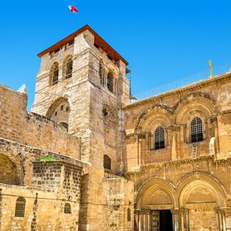 Kerk van het heilige graf in Jeruzalem