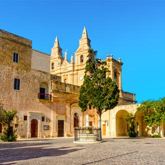 Kerk van onze lieve vrouw van de overwinning, in Mellieha, Malta
