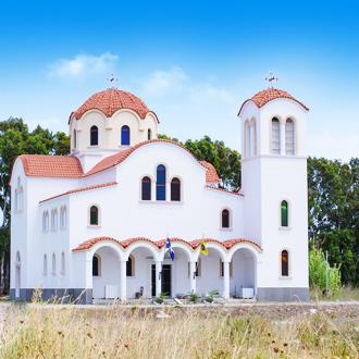 Kerkje in Lambi