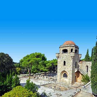 Klooster-op-Filerimos-berg-Ialyssos