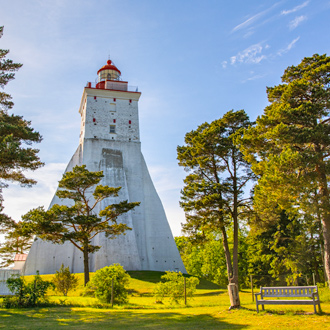 Vuurtoren Kopu Lighthouse in Hiiumaa in Estland