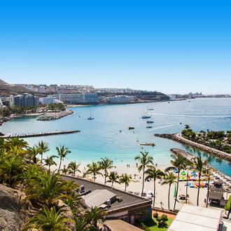 La Lajilla strand in Arguineguin, Gran Canaria