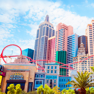 Stadsgebouwen in Las Vegas