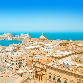 Foto-van-de-hoofdstad-van-Malta-Valletta