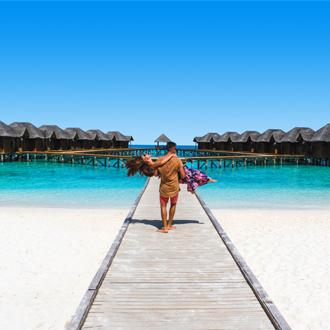 Watervillas op de Malediven