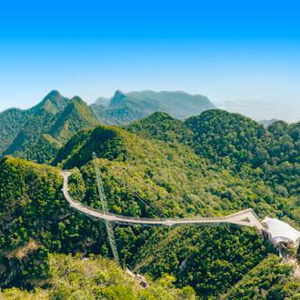 Skyline van de natuur in Maleisië