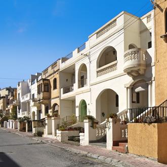 Malta Bugibba foto van huisjes