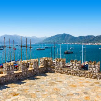 Haven van Marmaris in Turkije