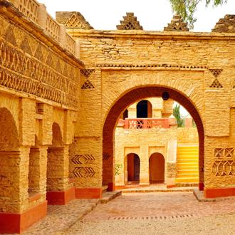 Arabisch monument in de Medina