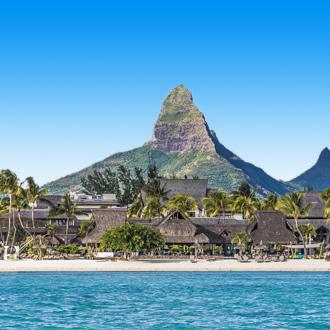 Piton de la petite riviere noire in Mauritius