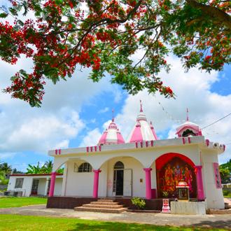 Grand Baie hindoe tempel in Port Louis