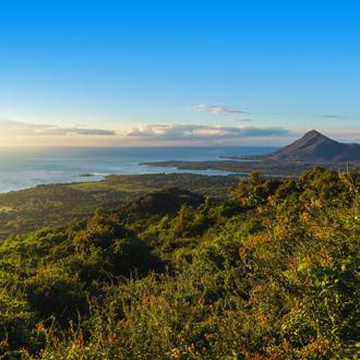 Prachtig uitzicht op Tamarin in Mauritius