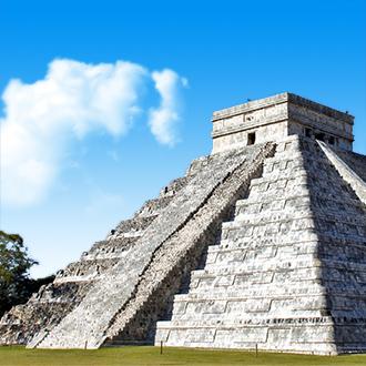 Tempel in Yucatan Chichen Itza