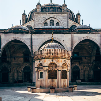 Mihrimah Sultan moskee in Uskudar in Istanbul, Turkije