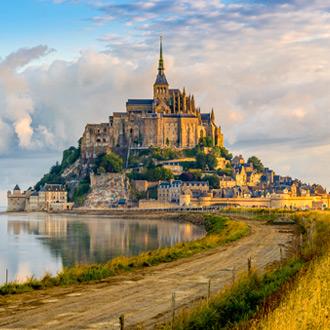 Mont Saint Michel in Normandie