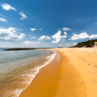 Negombo strand Sri Lanka