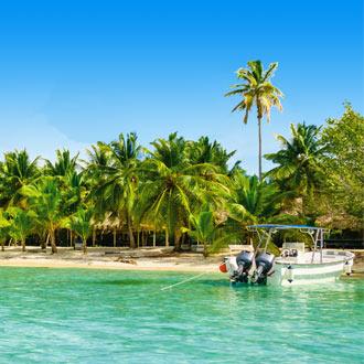 Exotisch strand aan de Oostkust