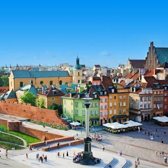 Oude stad van Warschau, Polen