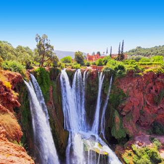 Ouzoud watervallen dagtrip Marrakech Marokko