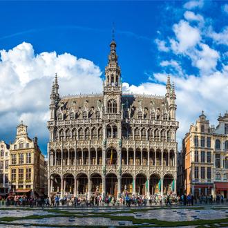 Een groot paleis in Brussel, Belgie