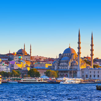 Panorama over Istanbul Turkije