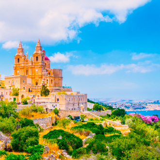 Parish kerk van Mellieha, Malta