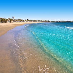Platja Prat d'en Fores Beach Cambrils