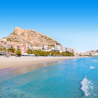 Playa de Postiguet in Alicante