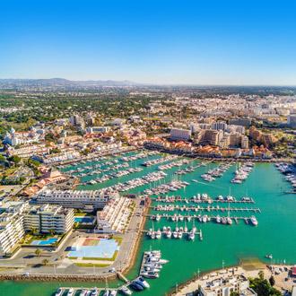 Haven van Vilamoura in de Algarve