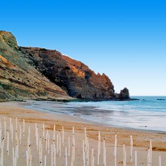 Prachtig strand in Praia Da Luz