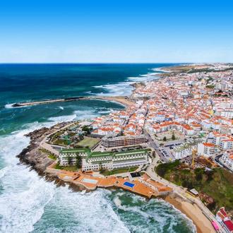 Uitzicht over Ericeira
