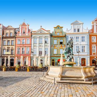 Poznan in Krakau, Polen