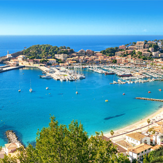 Prachtige foto van Port de Soller, Mallorca, Spanje