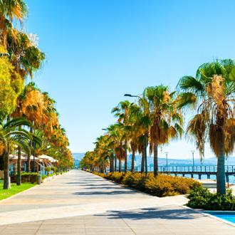 Promenade van Limassol, Cyprus