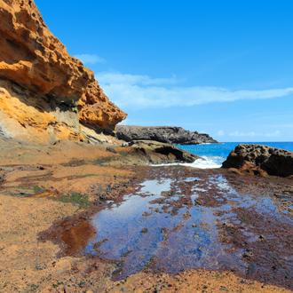 Punta Amarilla in Costa del Silencio op Tenerife in Spanje