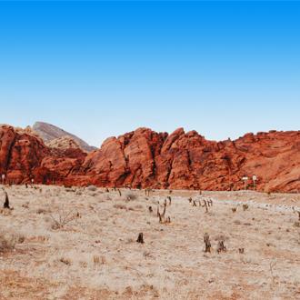 Bergen in de Red Rock Canyon