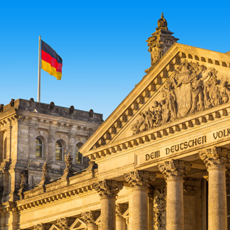 Reichstag in Berlijn, Duitsland