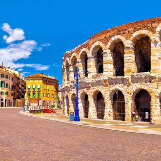 Roman amfitheater in Verona, Italie