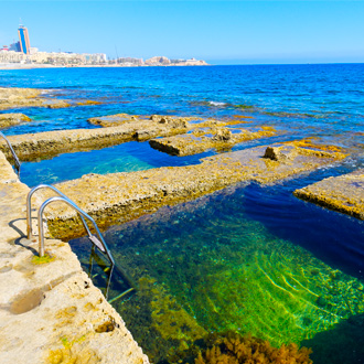 Romeins bad in Sliema, Malta