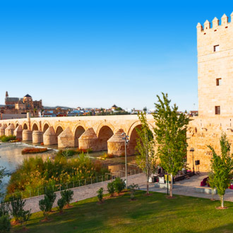 Romeinse brug in Córdoba, Spanje