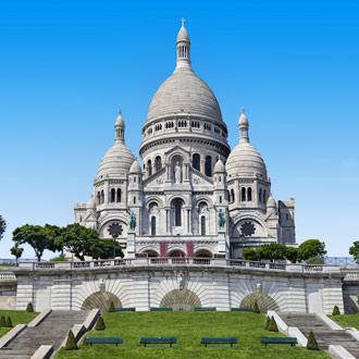 De Sacre Coeur in Parijs